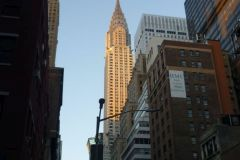 Het Chrysler building.